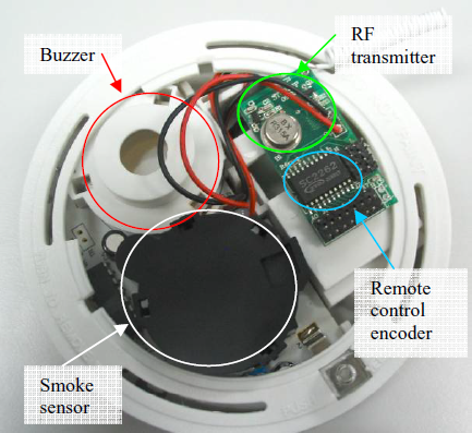 wireless smoke sensor schematic